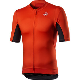 Castelli Vantaggio Maillot Manches courtes Homme, fiery red/black